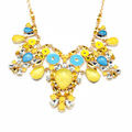 Luxurious owl statement necklace high end fashion jewelry necklace owl jewelry