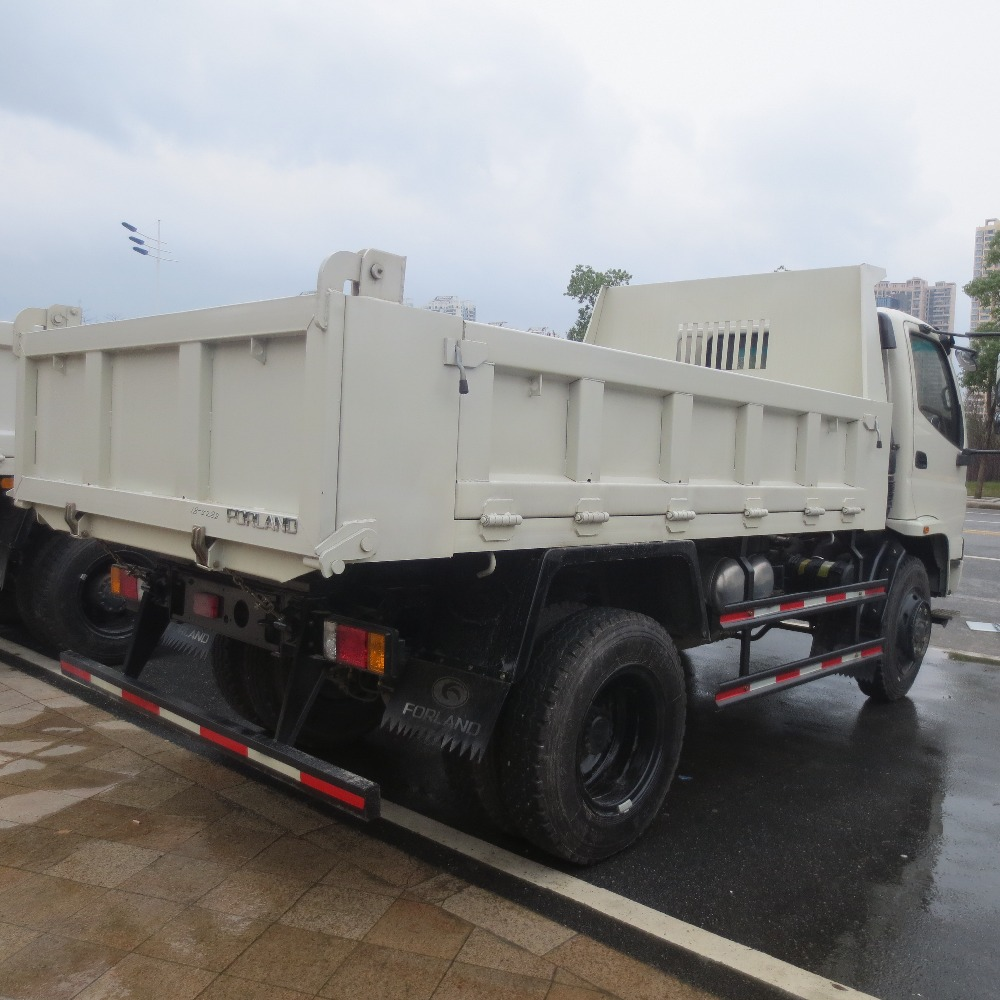 small 4x4 mini 3 ton 6wheels dump truck of sale