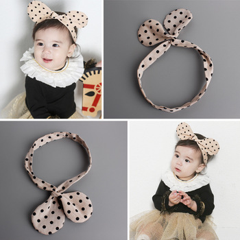 MS70014W New style baby dots design hair band