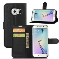 PU Wallet Leather Flip Case Cover for Samsung Galaxy S7 Edge