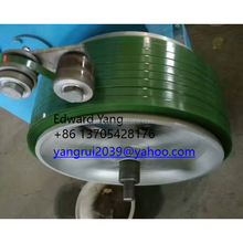 Plastic PET PP Packing Tape Strap Band Extrusion Making Machine / production line