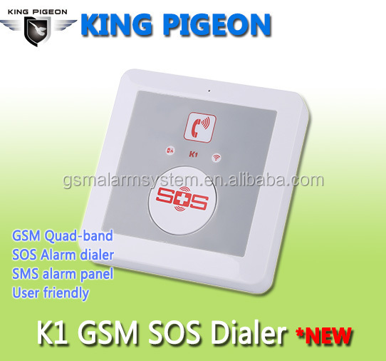 Universal gsm dialer with mobile sim card alarm dialer <strong>K1</strong>