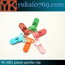 All kinds fancy colored plastic spring paper clip
