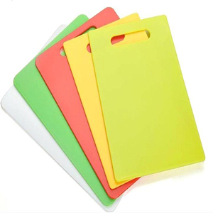 Eco-Friendly kitchen flexible colourful hdpe chopping boards/Customizable wholesale cutting boards/block