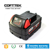 OEM Power Tool Battery For Milwaukee 18V 3000mAh Cordless Drill Cells for Milwaukee 48-11-1830 M18