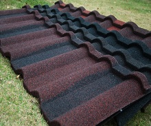 sand coated metal roofing tiles for home villa house