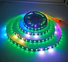 16.4ft 300 Pixels WS2813 Upgraded WS2812B Individually Addressable RGB strip light with factory price