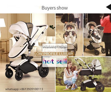 Hot sell baby stroller 3- in -1