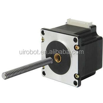 3d printer use linear stepper motor buy threaded nema 17 for Threaded shaft stepper motor