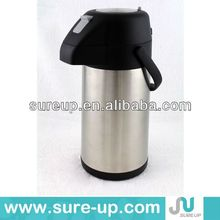 Stainless steel thermos pressure air pot, pump pot dispenser