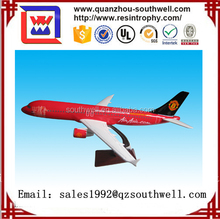 Custom logo/livery A320 resin 1 100 scale model aircraft