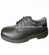 Winter rubber outsole safety shoes steel toe