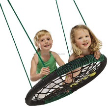Children's Round Web Tree net Swing Playground Platform indoor/outdoor height adjustable