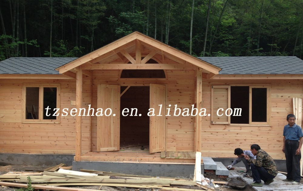 Modern Prefab Wood House/log cabin /Container house manufacture