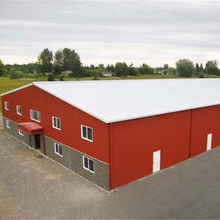 easy to build prefab steel structure warehouse