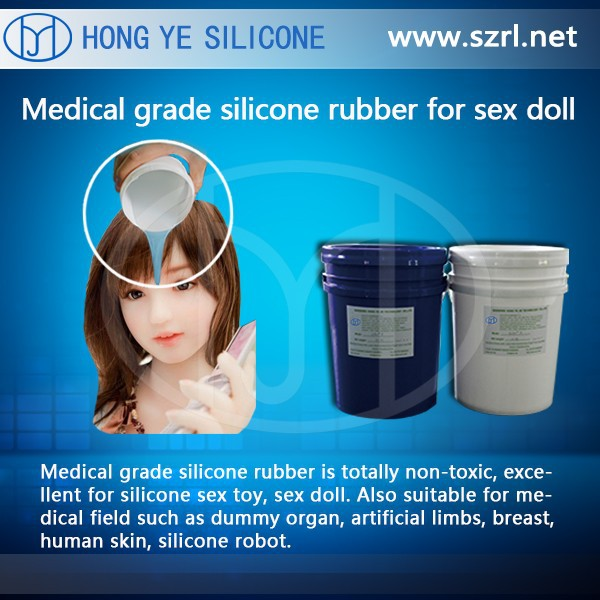 Realistic Life Size Sex Toys Making Silicone Rubber: Skin Safe and Medical Grade