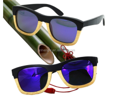 Carbonized bamboo sunglasses polarized