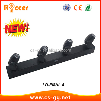 DJ light Moving Head Bar Light 4 Heads Led Bar Beam Light