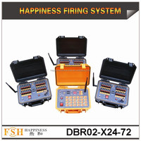 Salvo and Sequential (Rapid) firing system, 500 M Remote Control Fireworks Firing System, best seller (DBR02-X24/72)
