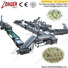 Fully Automatic Frozen French Fries Making Machine Frozen French Fries Line