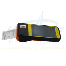 HF-FP09 RFID reader Bus Ticket Fingerprint Android PDA With Built in Thermal Printer