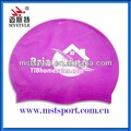 Adult silicone waterproof swim cap 100% wholesale