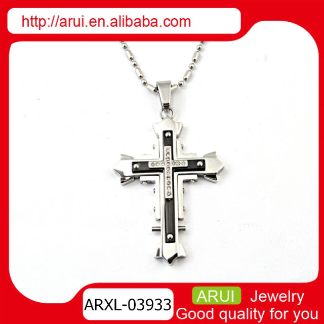 titanium steel religious cross holy pendant for 2014 best sell