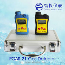Portable CH4 Gas Detector 0-100%LEL with audible,visual,vibrating alarms