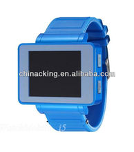1.8'' Watch phone Unlocked Touch Cell Phone GSM Hidden Camera DV Bluetooth MP3/4 i5