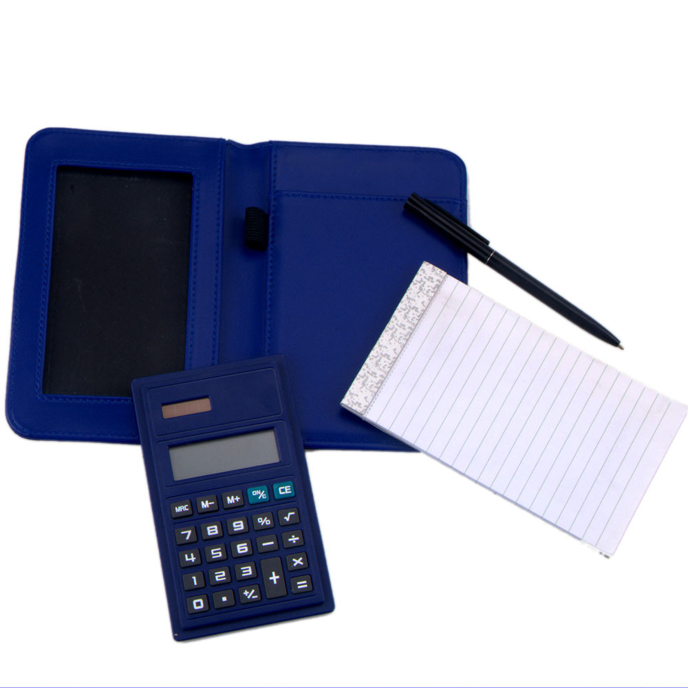 New Diary Notebook Leather Organizer Calculator
