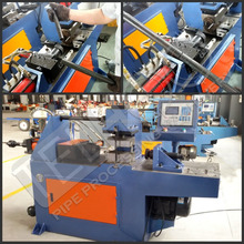 Single head Tube Pipe End Forming Machines With Expander, reducer, flange and flare Functions