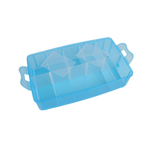 Directly sale blue large capacity tool box plastic toolbox