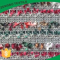 New products interesting hacci jacquard knitted fabric wholesale