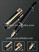 Business gift metal pen packing with wooden box design and made in our Shanghai plant