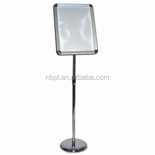 floor stand sign holder snap frame poster stand A3 size