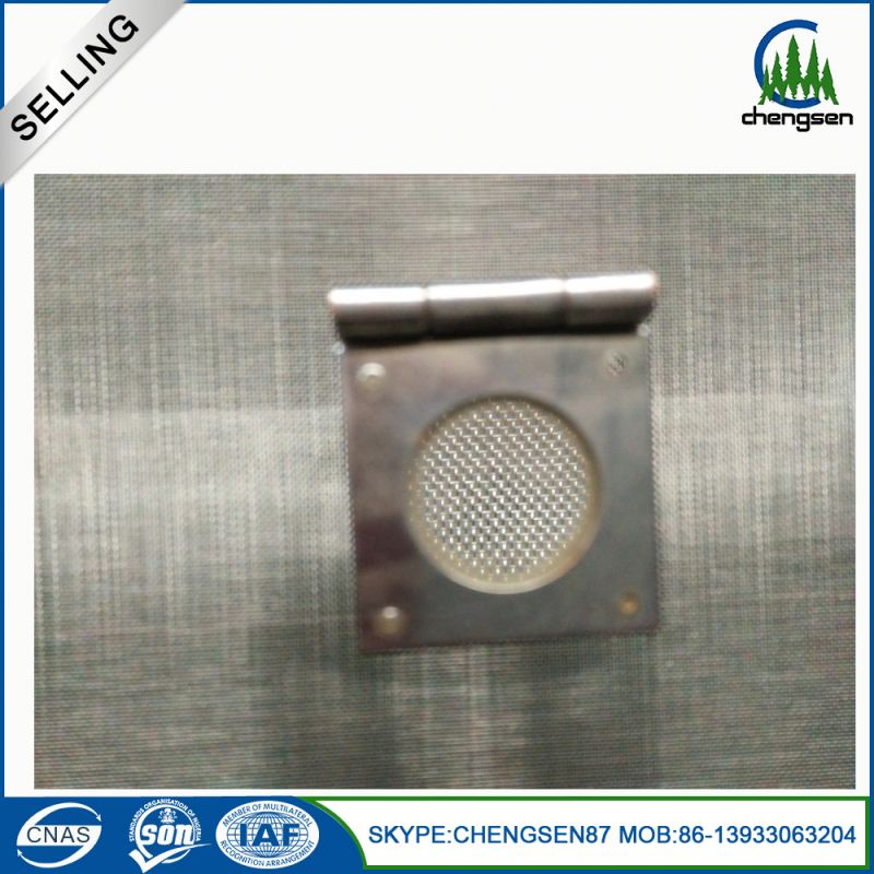 stainless steel sieve wire reinforced fiberglass cloth honeycomb mesh