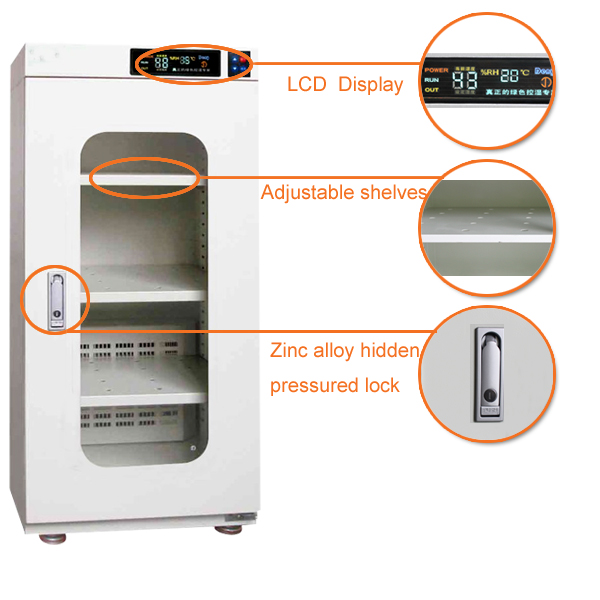 Golden Supplier Ultra Low Humidity Waterproof Storage Cabinet