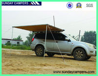 Camping side awning for van