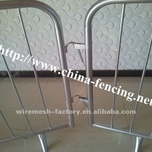 Hebei High strength galvanized steel pedestrian barrier/crowd control barrier/temporary fencing/temporary fence panels