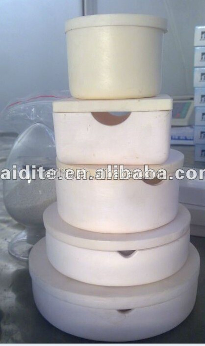 dental crucible use in dental furnace/dental lab