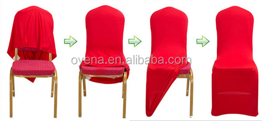 spandex chair covers wedding decoration Foshan