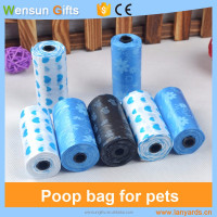 Dog poop bag for outdoor walking dogs