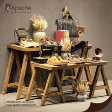 Wooden Multi-size Clothing Store Furniture Display Table
