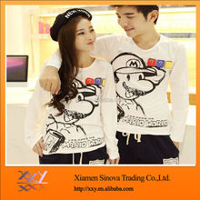 Digital Printed Couple T shirt design for lovers