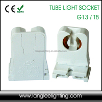 USA Market Non-Shunted UL Listed T8 T10 Tube Light Socket G13 Lamp holder Tombstone Stand Holder