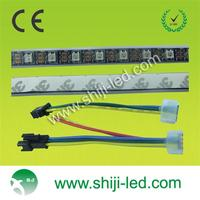 magic color ws 2812b rgb pixel led flex strip 3M adhesive