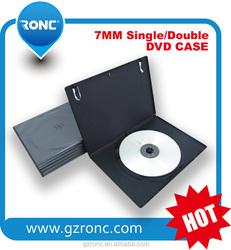 Different size dvd case 14mm Black with smooth Film single/double Case