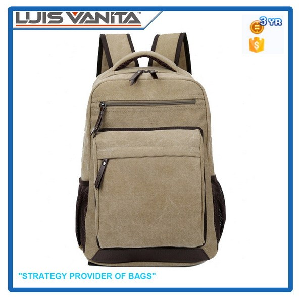 Hot Stylish Cheap Canvas Backpack