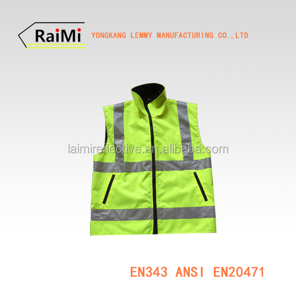 running clothes hivis jacket led lighted safety jacket high visibility reflective safety jacket