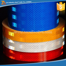 3m high visibility tape pet reflective fabric roll reflective vinyl stickers diamond with strip